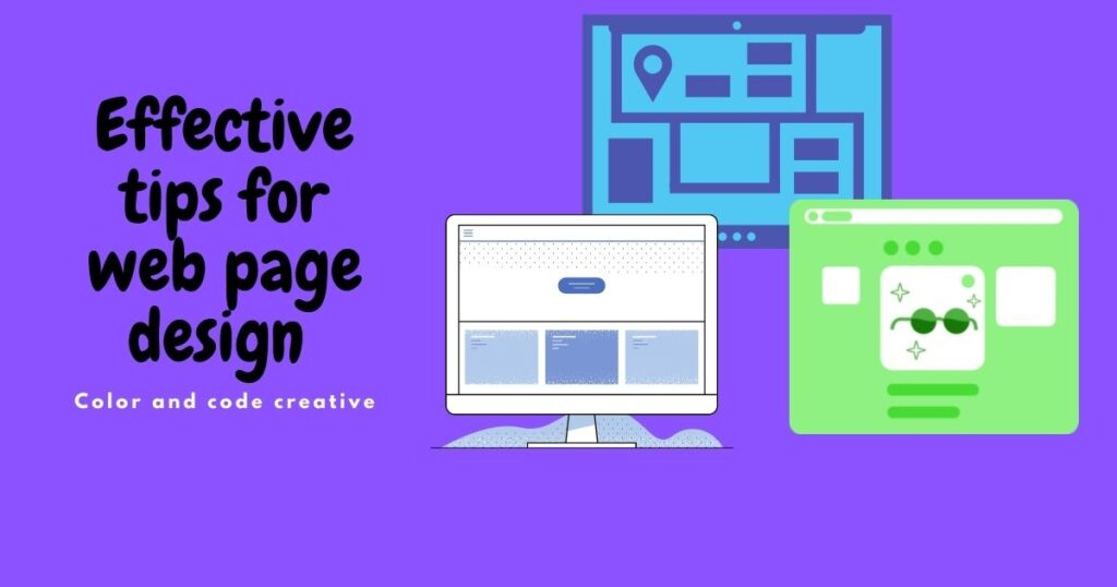 Effective tips for web page design